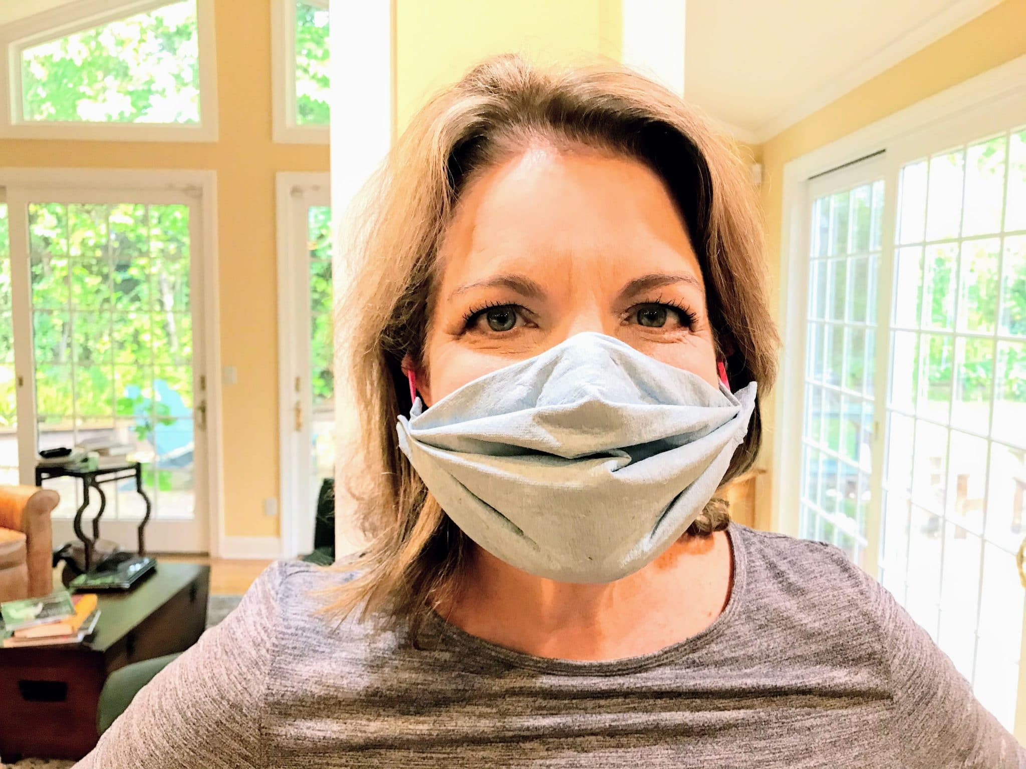 nurse-barb-blue-mask-shop-towel-diy-make-your-own