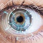 female eye EMDR