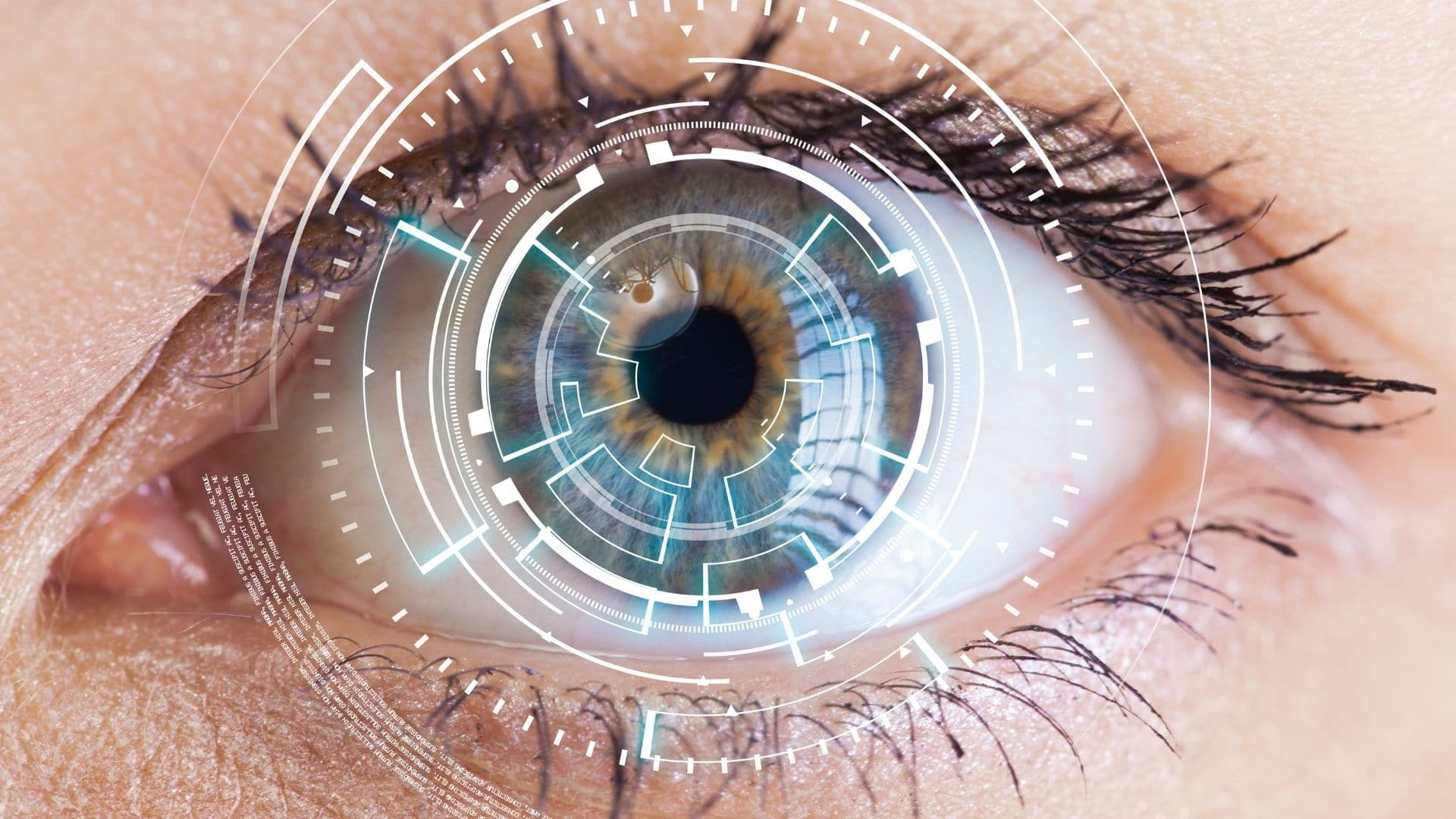 female eye EMDR